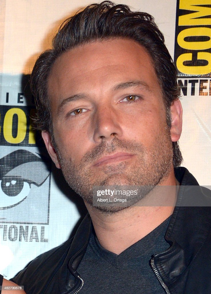 Actor <a gi-track='captionPersonalityLinkClicked' href=/galleries/search?phrase=Ben+Affleck&family=editorial&specificpeople=201856 ng-click='$event.stopPropagation()'>Ben Affleck</a> attends the Warner Bros. Pictures panel and presentation during Comic-Con International 2014 at San Diego Convention Center on July 26, 2014 in San Diego, California.
