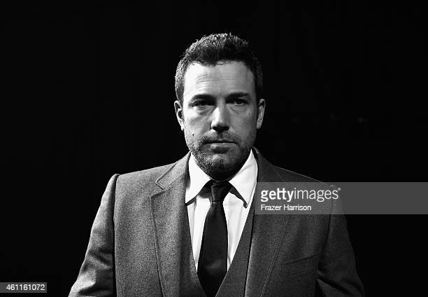 Actor Ben Affleck backstage during The 41st Annual People's Choice Awards at Nokia Theatre LA Live on January 7 2015 in Los Angeles California