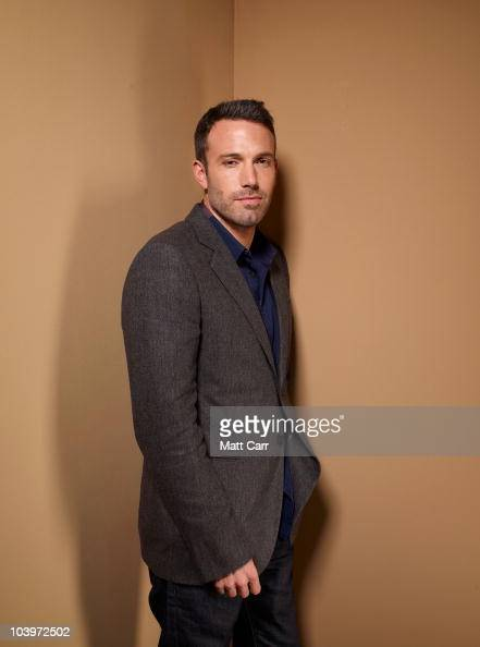 Actor Ben Affleck from 'The Town' poses for a portrait during the 2010 Toronto International Film Festival in Guess Portrait Studio at Hyatt Regency...