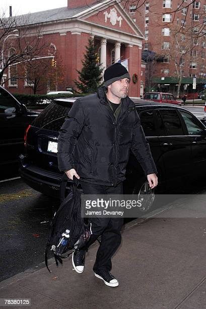 Actor Ben Affleck sighting on December 10 2007in New York City New York