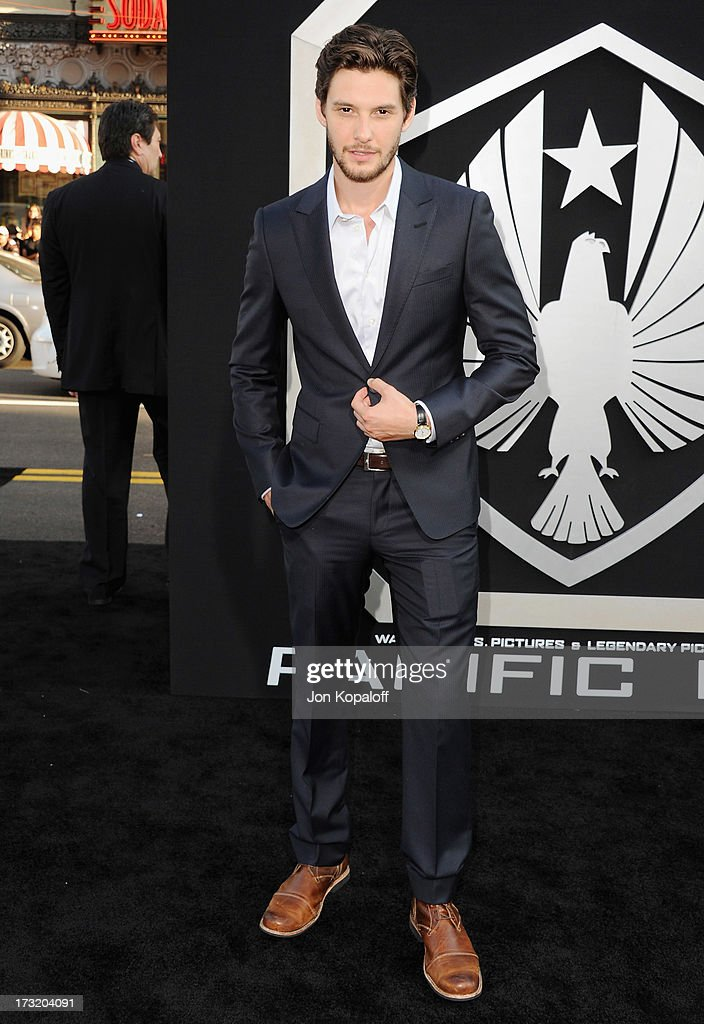 Actor Ben Barnes arrives at the Los Angeles Premiere 'Pacific Rim' at Dolby Theatre on July 9, 2013 in Hollywood, California.