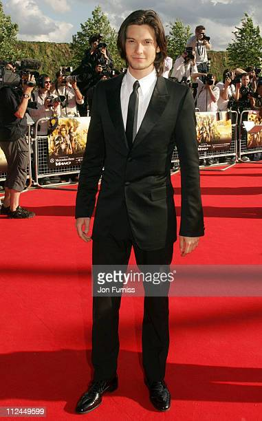Actor Ben Barnes arrives at the UK Premiere of The Chronicles of Narnia Prince Caspian at the O2 Dome in North Greenwich on June 19 2008 in London...