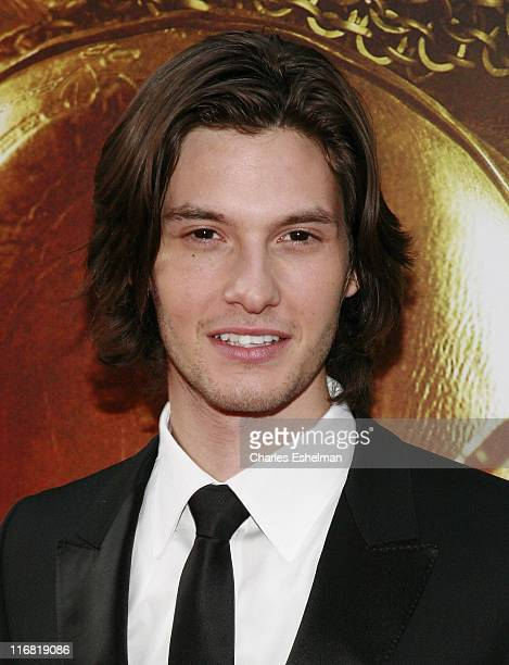 Actor Ben Barnes arrives at the world premiere of 'The Chronicles of Narnia Prince Caspian' at the Ziegfeld Theatre on May 7 2008 in New York City