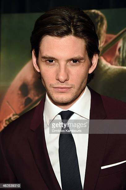 Actor Ben Barnes attends 'Seventh Son' special screening at Crosby Street Hotel on January 30 2015 in New York City