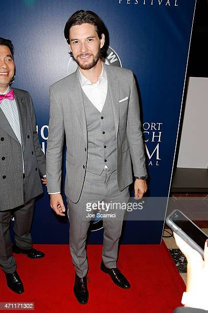 Actor Ben Barnes attends the 2015 Newport Beach Film Festival for the 'Jackie Ryan' Premiere at Triangle Square Theater on April 25 2015 in Costa...