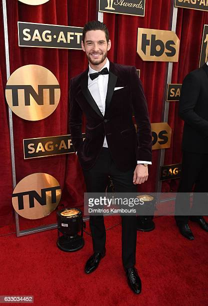 Actor Ben Barnes attends The 23rd Annual Screen Actors Guild Awards at The Shrine Auditorium on January 29 2017 in Los Angeles California 26592_009