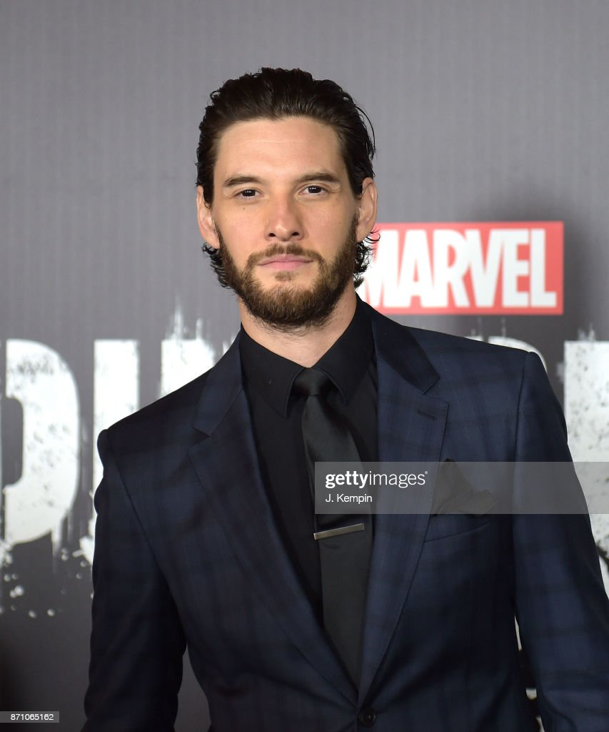 Actor Ben Barnes attends the 'Marvel's The Punisher' New York Premiere on November 6, 2017 in New York City.