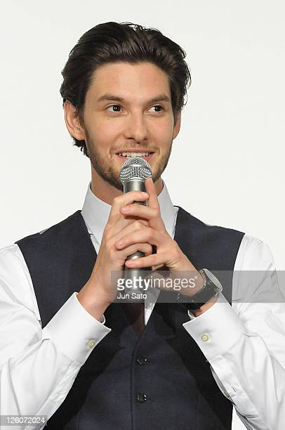 Actor Ben Barnes attends the 'The Chronicles of Narnia The Voyage of the Dawn Treader' premiere at the Nichigeki Theater on February 13 2011 in Tokyo...