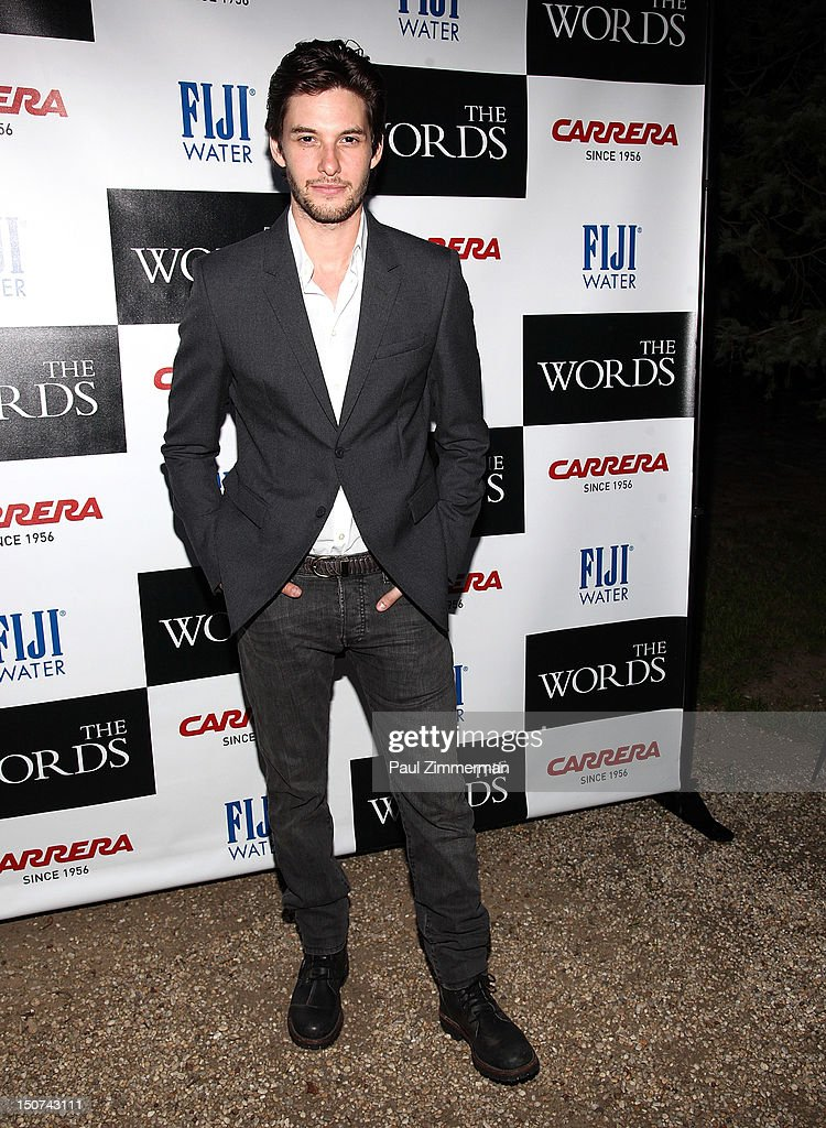 Actor Ben Barnes attends 'The Words' screening at Goose Creek on August 25, 2012 in East Hampton, New York.