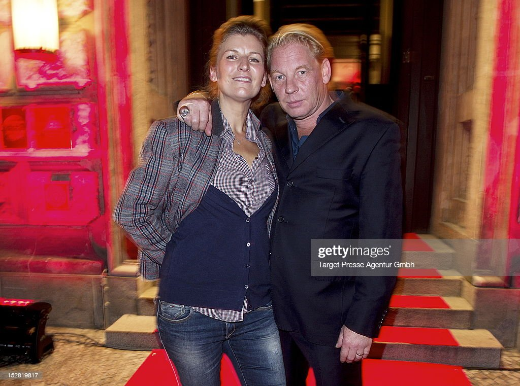 Actor Ben Becker and his wife Anne Seidel attend the Vodafone Night at Hotel de Rome on September 26, 2012 in Berlin, Germany.