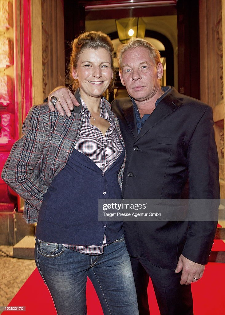 Actor <a gi-track='captionPersonalityLinkClicked' href=/galleries/search?phrase=Ben+Becker&family=editorial&specificpeople=622206 ng-click='$event.stopPropagation()'>Ben Becker</a> and his wife Anne Seidel attend the Vodafone Night at Hotel de Rome on September 26, 2012 in Berlin, Germany.