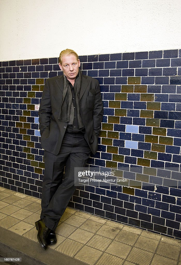 Actor Ben Becker attends the 6th Askania Award 2013 on February 5, 2013 in Berlin, Germany.