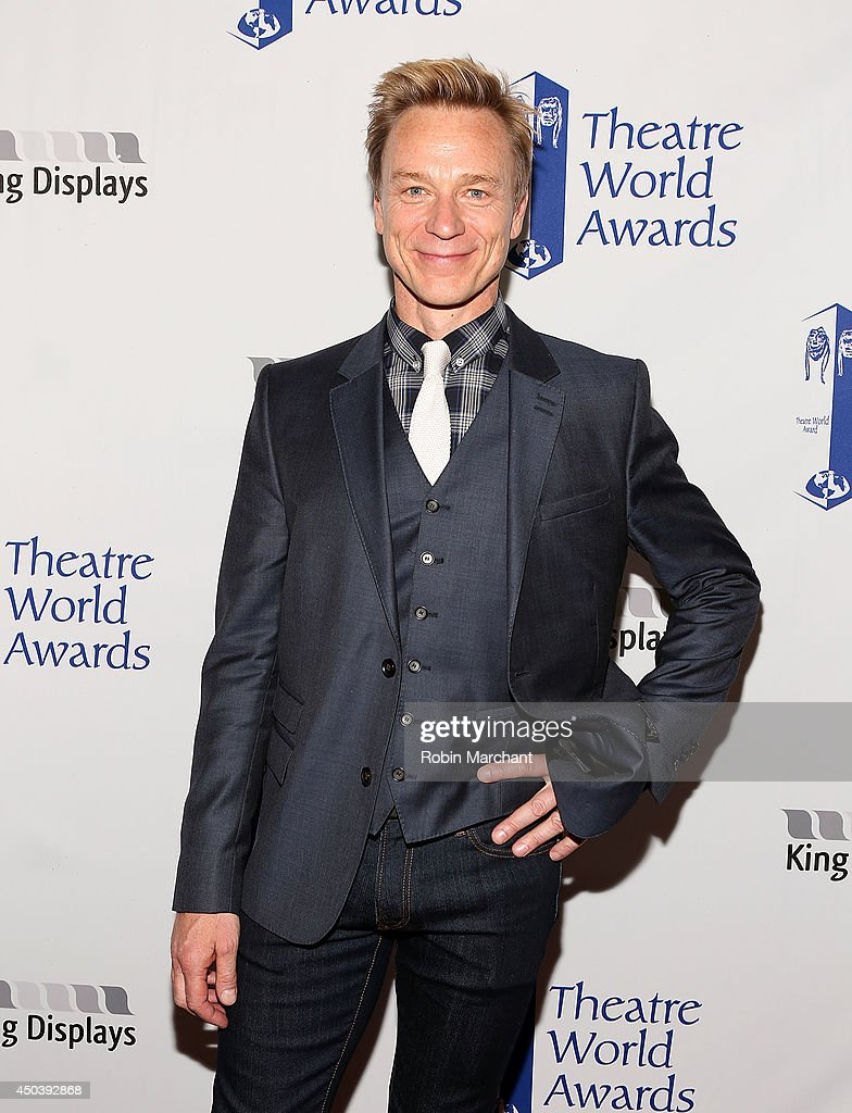 Actor Ben Daniels attends the 2014 Theatre World Awards ceremony at Circle in the Square on June 2, 2014 in New York City.
