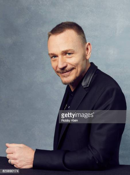 Actor Ben Daniels of Fox's 'The Exorcist' poses for a portrait during ComicCon 2017 at Hard Rock Hotel San Diego on July 20 2017 in San Diego...