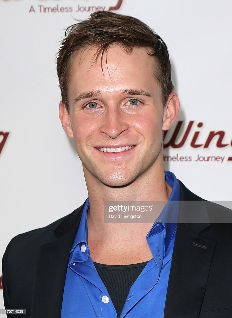 Actor Ben Davies attends a screening of Integrity Film Production's 'Red Wing' at Harmony Gold Theatre on August 6, 2013 in Los Angeles, California.