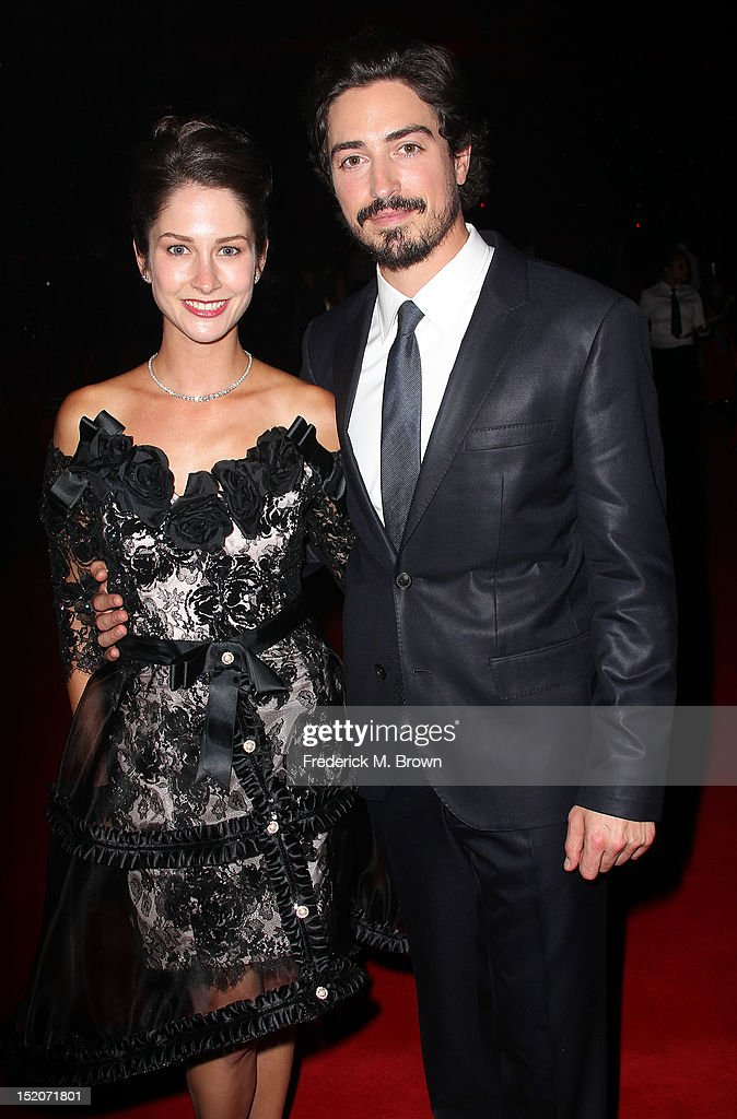 Actor <a gi-track='captionPersonalityLinkClicked' href=/galleries/search?phrase=Ben+Feldman&family=editorial&specificpeople=709365 ng-click='$event.stopPropagation()'>Ben Feldman</a> (R) and his guest attend The Academy Of Television Arts & Sciences 2012 Creative Arts Emmy Awards' Governors Ball at the Los Angeles Convention Center on September 15, 2012 in Los Angeles, California.