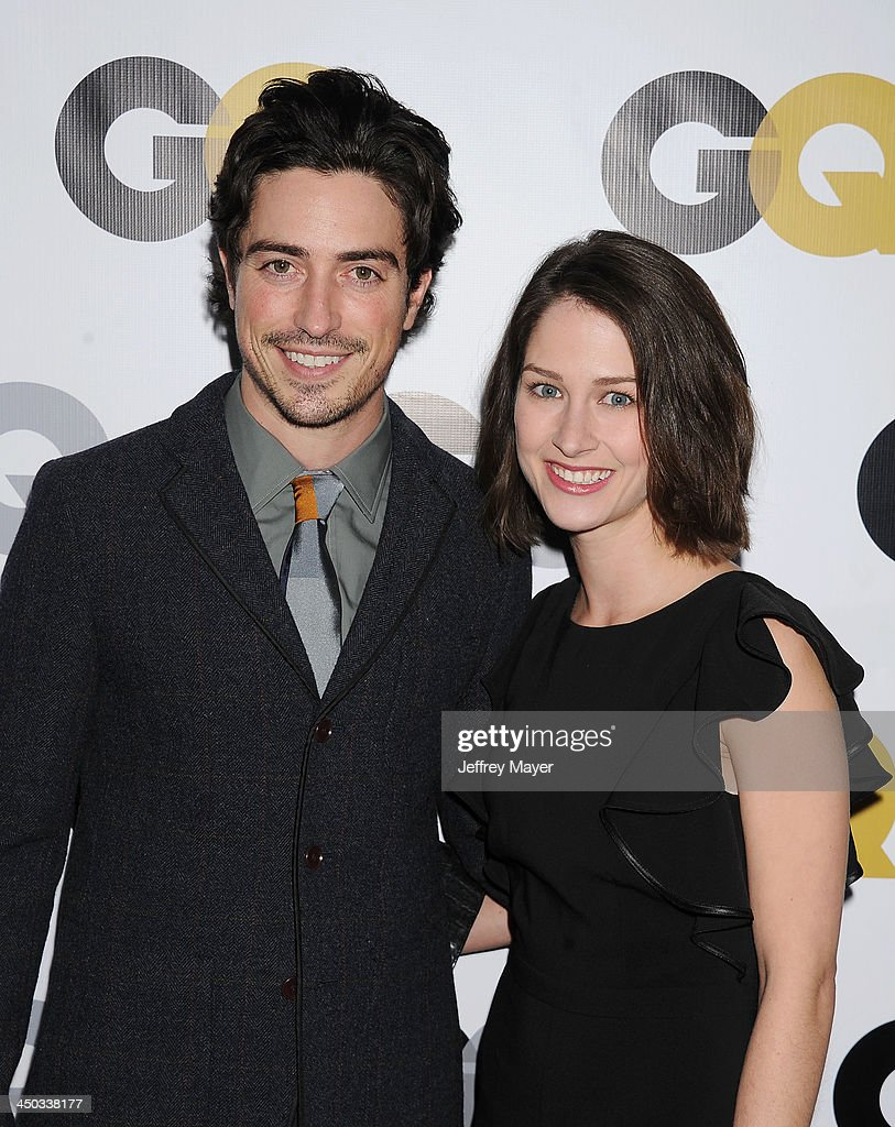 Actor <a gi-track='captionPersonalityLinkClicked' href=/galleries/search?phrase=Ben+Feldman&family=editorial&specificpeople=709365 ng-click='$event.stopPropagation()'>Ben Feldman</a> (L) and Michelle Mulitz arrive at the 2013 GQ Men Of The Year Party at The Ebell of Los Angeles on November 12, 2013 in Los Angeles, California.