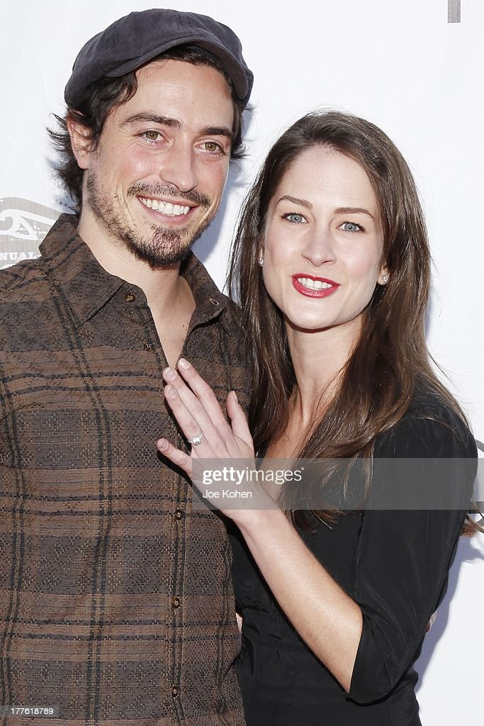 Actor <a gi-track='captionPersonalityLinkClicked' href=/galleries/search?phrase=Ben+Feldman&family=editorial&specificpeople=709365 ng-click='$event.stopPropagation()'>Ben Feldman</a> and Michelle Mulitz attend LEXUS Live On Grand At The 3rd Annual Los Angeles Food & Wine Festival on August 24, 2013 in Los Angeles, California.