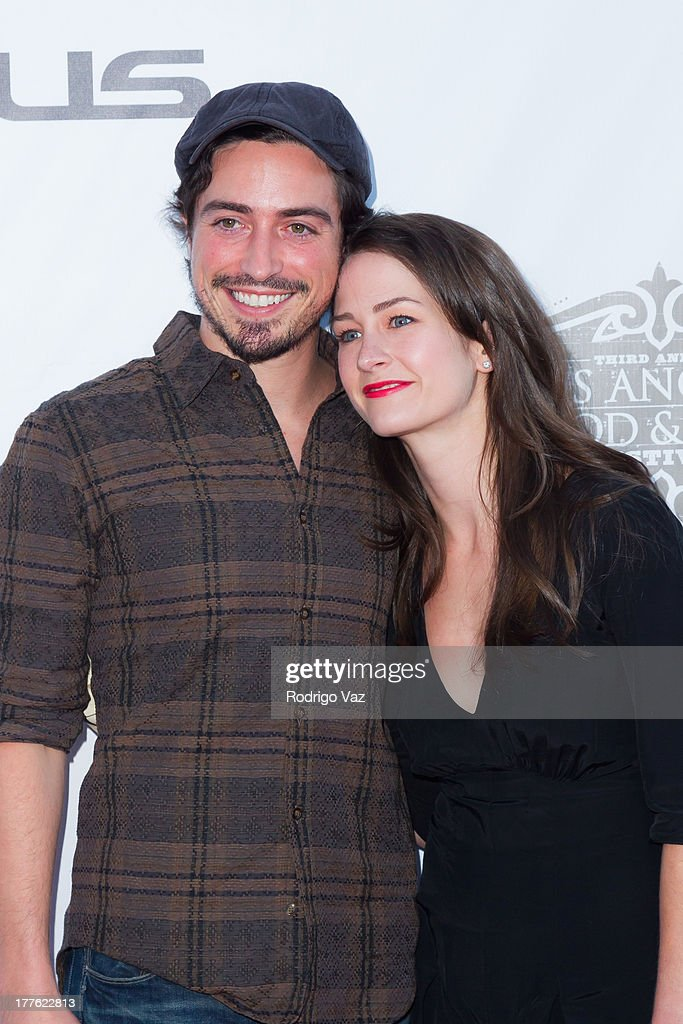Actor <a gi-track='captionPersonalityLinkClicked' href=/galleries/search?phrase=Ben+Feldman&family=editorial&specificpeople=709365 ng-click='$event.stopPropagation()'>Ben Feldman</a> (L) and Michelle Mulitz attend LEXUS Live On Grand at the 3rd Annual Los Angeles Food & Wine Festival arrivals on August 24, 2013 in Los Angeles, California.