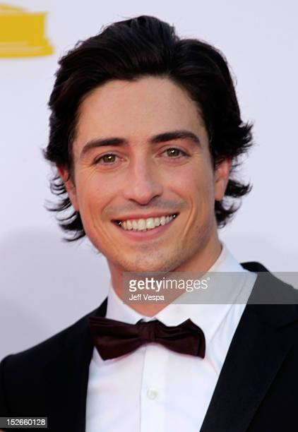 Actor Ben Feldman arrives at the 64th Primetime Emmy Awards at Nokia Theatre LA Live on September 23 2012 in Los Angeles California