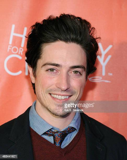 Actor Ben Feldman attends Hilarity for Charity NYC Cocktail Party at The Jane Hotel on April 8 2014 in New York City