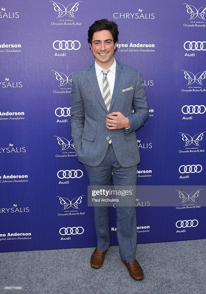 Actor Ben Feldman attends the 13th Annual Chrysalis Butterfly Ball at a private Mandeville Canyon Estate on June 7, 2014 in Los Angeles, California.