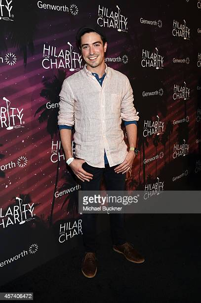 Actor Ben Feldman attends the 3rd Annual Hilarity for Charity Variety Show to benefit the Alzheimer's Association presented by Genworth at Hollywood...