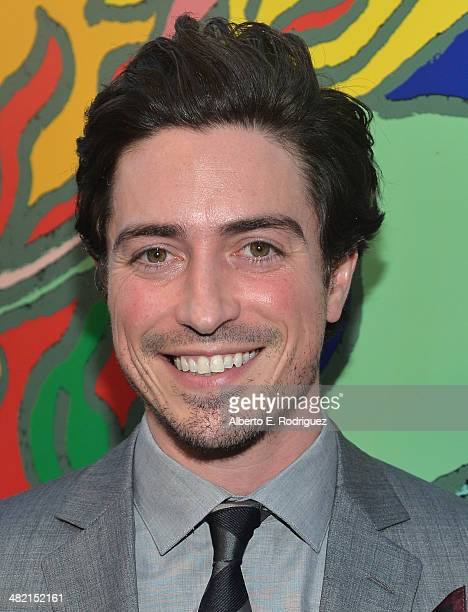 Actor Ben Feldman attends the AMC celebration of the 'Mad Men' season 7 premiere at ArcLight Cinemas on April 2 2014 in Hollywood California