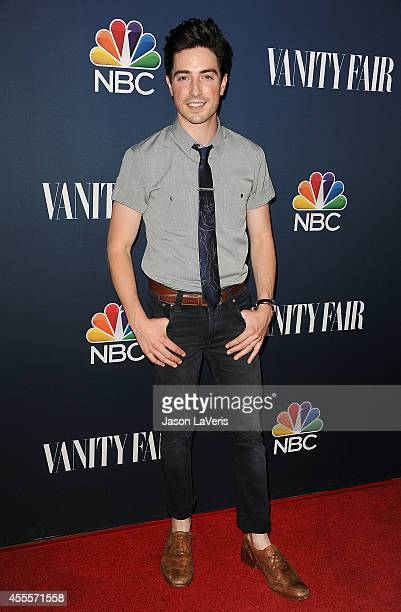 Actor Ben Feldman attends the NBC Vanity Fair 2014 2015 TV season event at HYDE Sunset Kitchen Cocktails on September 16 2014 in West Hollywood...