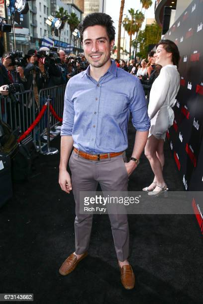 Actor Ben Feldman attends the premiere of Hulu's 'The Handmaid's Tale' at ArcLight Cinemas Cinerama Dome on April 25 2017 in Hollywood California