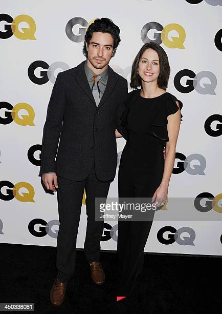 Actor Ben Feldman Michelle Mulitz arrive at the 2013 GQ Men Of The Year Party at The Ebell of Los Angeles on November 12 2013 in Los Angeles...