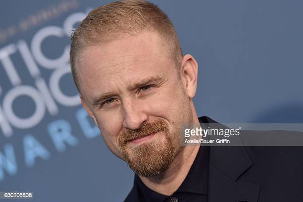 Actor Ben Foster arrives at The 22nd Annual Critics' Choice Awards at Barker Hangar on December 11 2016 in Santa Monica California