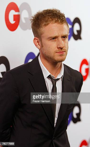Actor Ben Foster arrives at the GQ 2007 Men Of The Year celebration at Chateau Marmont on December 5 2007 in Hollywood California