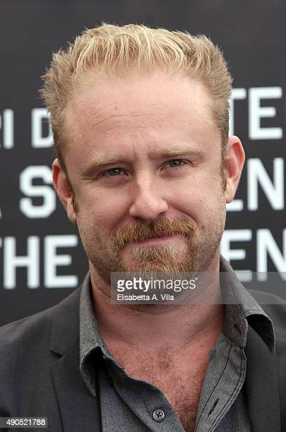 Actor Ben Foster attends a photocall for 'The Program' at Hotel Bernini Bristol on September 29 2015 in Rome Italy