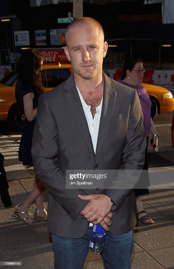 Actor Ben Foster attends BAMcinemaFest 2013 And The Cinema Society Host The Opening Night Premiere Of 'Ain't Them Bodies Saints' at BAM Harvey Theater on June 19, 2013 in New York City.