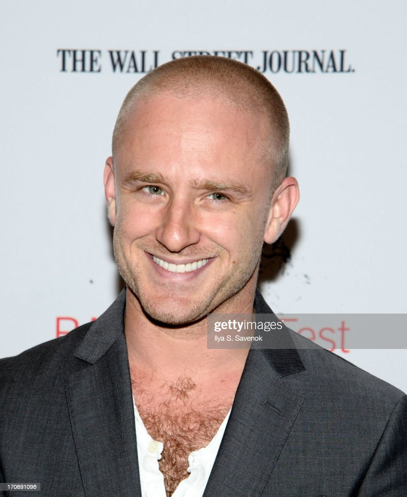 Actor Ben Foster attends BAMcinemaFest 2013 and The Cinema Society host the Opening Night premiere of 'Ain't Them Bodies Saints' at BAM Harvey...