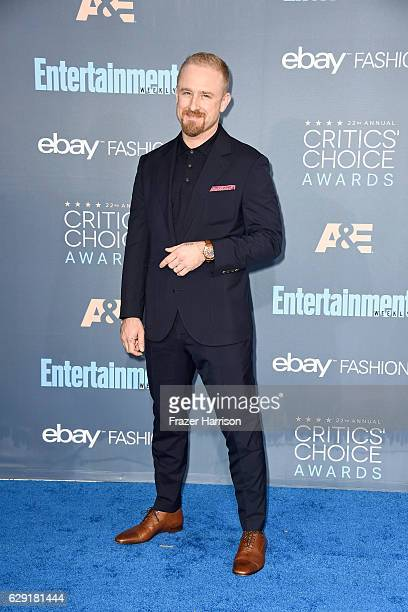 Actor Ben Foster attends The 22nd Annual Critics' Choice Awards at Barker Hangar on December 11 2016 in Santa Monica California