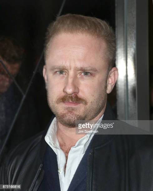 Actor Ben Foster attends the after party for the screening of Sony Pictures Classics' 'Call Me By Your Name' hosted by Calvin Klein and The Cinema...
