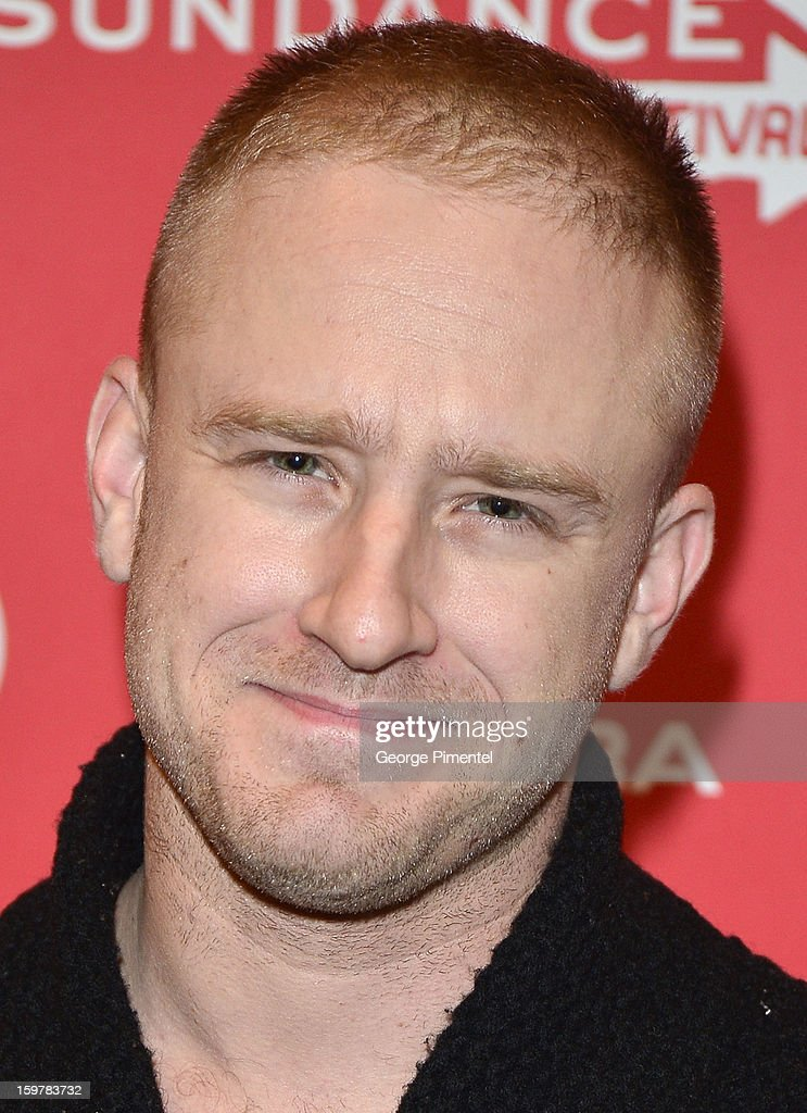 Actor Ben Foster attends the 'Aint Them Bodies Saints' premiere at Eccles Center Theatre during the 2013 Sundance Film Festival on January 20, 2013 in Park City, Utah.