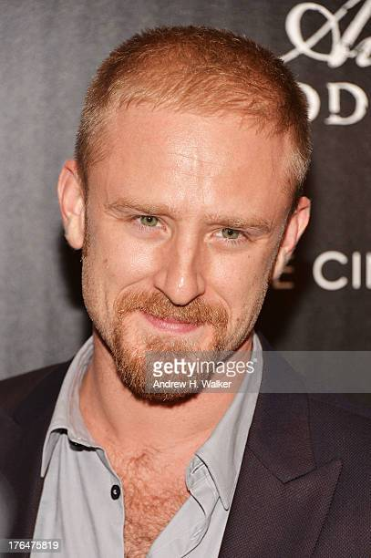 Actor Ben Foster attends the Downtown Calvin Klein with The Cinema Society screening of IFC Films' 'Ain't Them Bodies Saints' at the Museum of Modern...