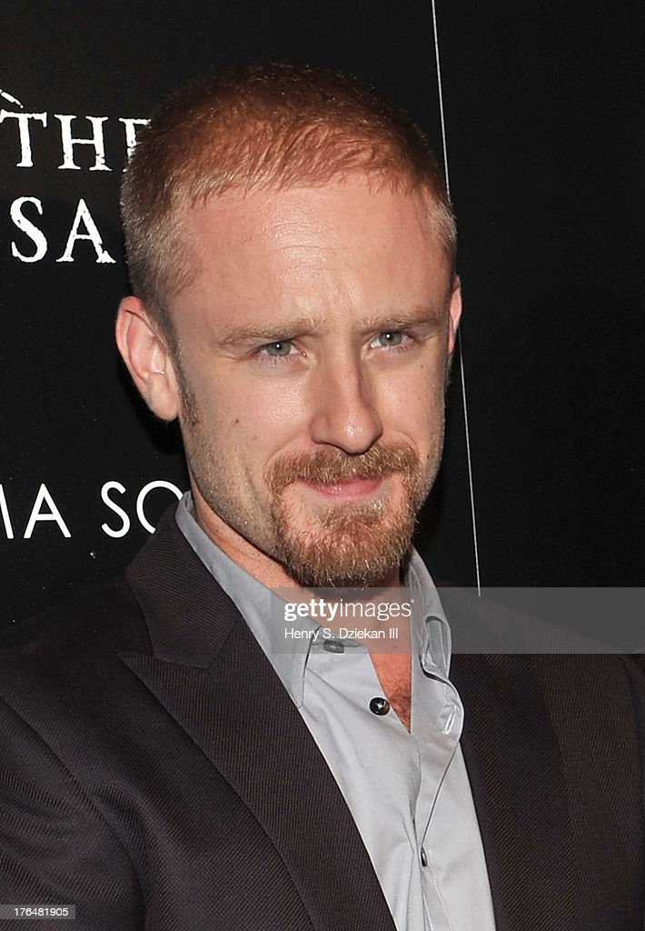 Actor Ben Foster attends the Downtown Calvin Klein with The Cinema Society screening of IFC Films' 'Ain't Them Bodies Saints' at Museum of Modern Art on August 13, 2013 in New York City.
