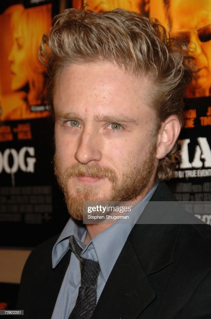 Actor Ben Foster attends the premiere of Universal Pictures' 'Alpha Dog' at the Cinerama Dome on January 3, 2007 in Hollywood, California.