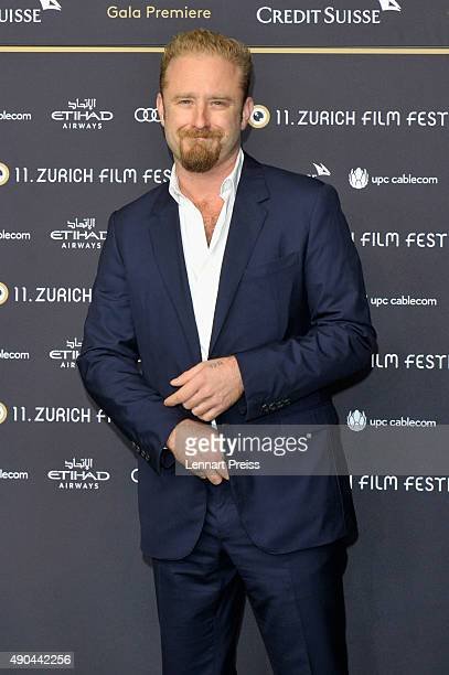 Actor Ben Foster attends the 'The Program' Premiere during the Zurich Film Festival on September 28 2015 in Zurich Switzerland The 11th Zurich Film...
