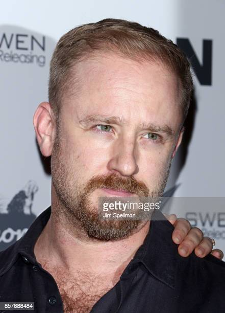 Actor Ben Foster attends the 'UNA' New York VIP screening at Landmark Sunshine Cinema on October 4 2017 in New York City