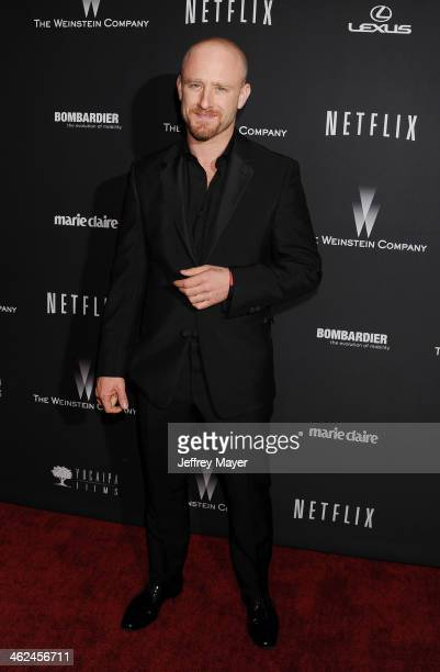Actor Ben Foster attends The Weinstein Company Netflix 2014 Golden Globes After Party held at The Beverly Hilton Hotel on January 12 2014 in Beverly...