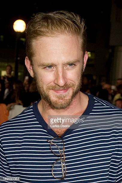 Actor Ben Foster during the Toronto International Film Festival premiere of the movie 'Love Marilyn' at Roy Thompson Hall