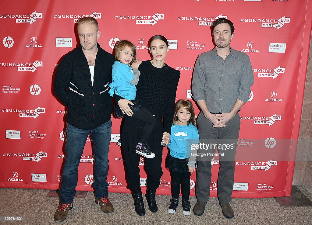 Actor Ben Foster, Kennadie Smith, actress <a gi-track='captionPersonalityLinkClicked' href=/galleries/search?phrase=Rooney+Mara&family=editorial&specificpeople=5669181 ng-click='$event.stopPropagation()'>Rooney Mara</a>, Jacklynn Smith and actor <a gi-track='captionPersonalityLinkClicked' href=/galleries/search?phrase=Casey+Affleck&family=editorial&specificpeople=1539212 ng-click='$event.stopPropagation()'>Casey Affleck</a> attend the 'Aint Them Bodies Saints' premiere at Eccles Center Theatre during the 2013 Sundance Film Festival on January 20, 2013 in Park City, Utah.