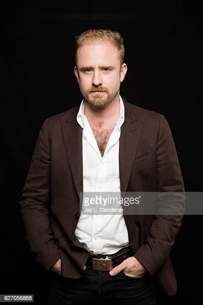 Actor Ben Foster of 'Hell or High Water' is photographed for Los Angeles Times on November 5 2016 in Los Angeles California PUBLISHED IMAGE CREDIT...
