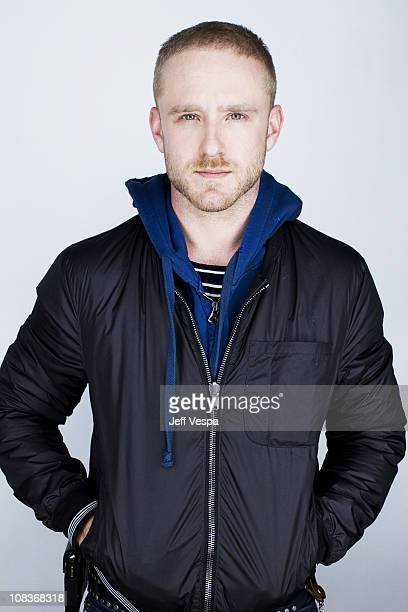 Actor Ben Foster poses at a portrait session at the 2011 Sundance Film Festival in Park City Utah on January 22 2011