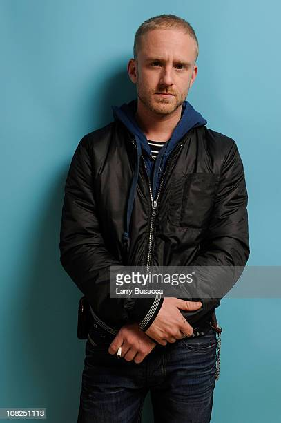 Actor Ben Foster poses for a portrait during the 2011 Sundance Film Festival at The Samsung Galaxy Tab Lift on January 22 2011 in Park City Utah